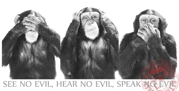 See No Evil, Hear No Evil, Speak No Evil2