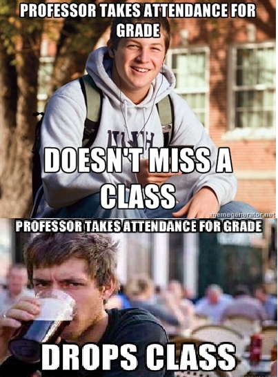 College-Freshman-and-College-Senior-on-Attendance